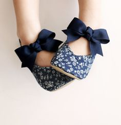 Toddler Girl Shoes Baby Shoes Infant Shoes Soft Sole Shoes Spring Shoes Summer Shoes Denim Shoes Floral Shoes White Shoes Navy Blue-Fleur | Girls Shoes, Toddle… (6592)
