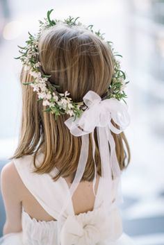Flower Girl Crown | Flower Girl Crown, Flower Girls and Crowns (6593)
