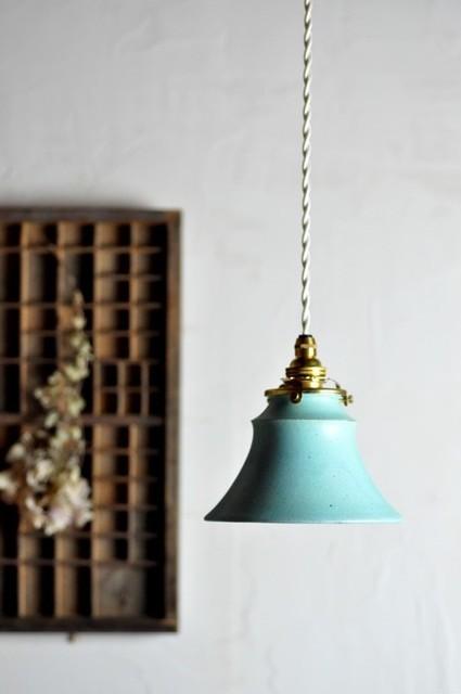 陶器のランプシェード|ライト・ランプ|ハンドメイド通販・販売のCreema (9963)