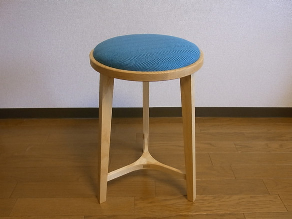 スツール ファブリック張り座面|椅子・ベンチ・スツール|ハンドメイド通販・販売のCreema (9988)