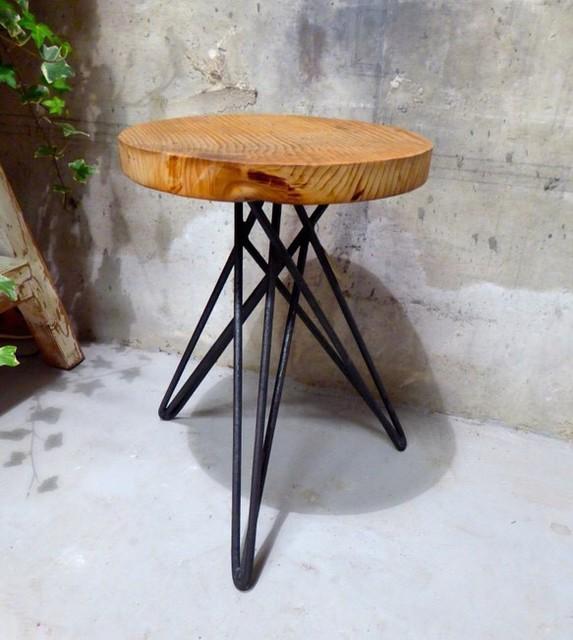 古材 アイアンのスツール|椅子・ベンチ・スツール|ハンドメイド通販・販売のCreema (9994)