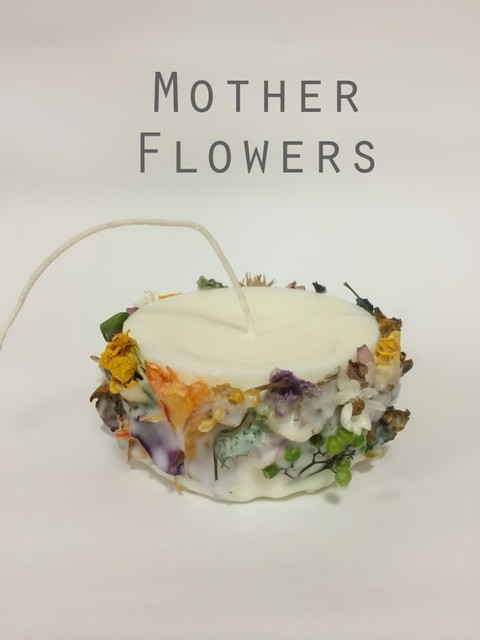 natural soy candle ーMother Flowersー|キャンドル|ハンドメイド通販・販売のCreema (10109)