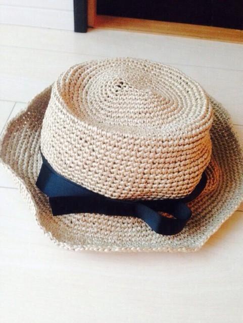 受注製作☆おしゃれなカンカン帽|帽子|ハンドメイド通販・販売のCreema (10188)