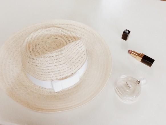 White Ribon Hat|帽子|ハンドメイド通販・販売のCreema (10195)