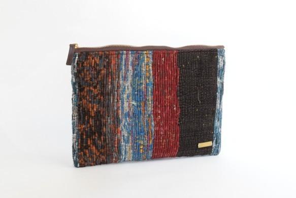 裂き織りクラッチバッグ|クラッチバッグ|ハンドメイド通販・販売のCreema (10273)