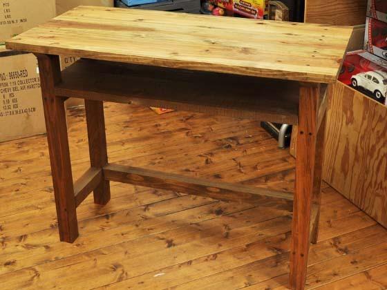 ワークテーブル W900[ウォールナット]|テーブル・デスク|ハンドメイド通販・販売のCreema (10328)