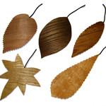 しおりも秋仕様*秋を感じるデザインの手作りブックマーカー*