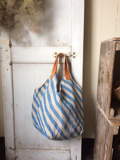 ポーランドリネンパッチバッグ ターコイズ|トートバッグ|ハンドメイド通販・販売のCreema (10387)