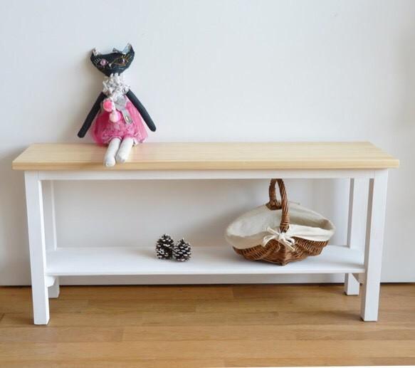 Magnifiques meubles ベンチ ホワイト|椅子・ベンチ・スツール|ハンドメイド通販・販売のCreema (10483)