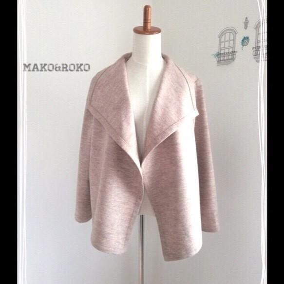 圧縮ウールドレープジャケット☆★|コート・ジャケット|ハンドメイド通販・販売のCreema (10585)
