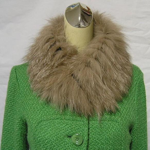 ¶ new antique fur ¶ 最高級フォックスメビウスループスヌード♪♪|マフラー・スヌード|ハンドメイド通販・販売のCreema (10627)