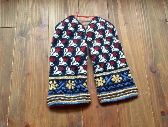 ラトビアミトン 紺色|手袋・ミトン|ハンドメイド通販・販売のCreema (10746)
