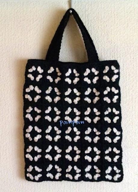 モチーフトート(クロシロ)|トートバッグ|ハンドメイド通販・販売のCreema (10766)