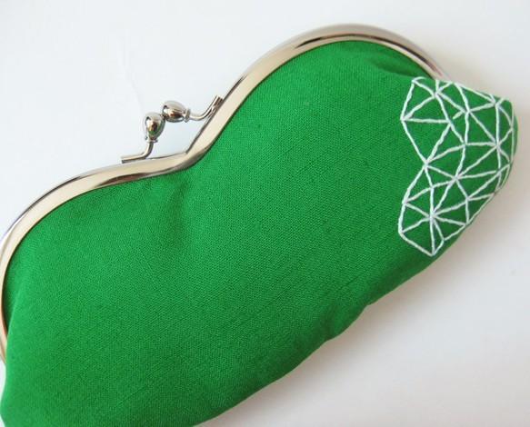 緑の幾何学模様のメガネケース|ケース・その他|ハンドメイド通販・販売のCreema (10774)