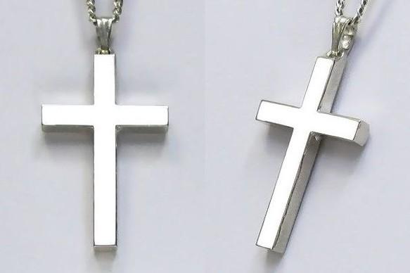鏡面仕上げのラテン十字架 cc01|ネックレス・ペンダント|ハンドメイド通販・販売のCreema (10795)
