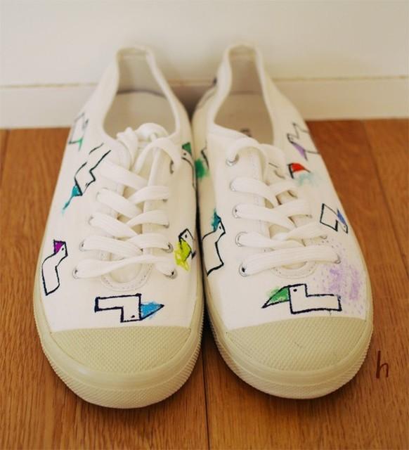 イロトリドリ スニーカー|靴・スニーカー・サンダル|ハンドメイド通販・販売のCreema (10898)