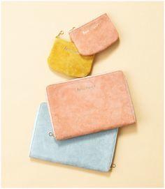 suede coincase & suede wallet | MM | Pinterest | 財布 (10953)