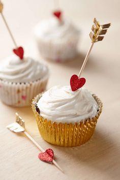 Romantic Baking Kits | バレンタイン、バレンタインデーのカップケーキ、カップケーキ (11108)