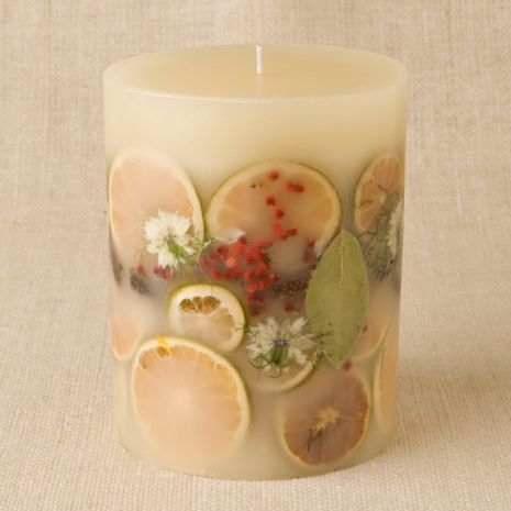 Botanical Candles with Fresh Herbs, Fruits, and Flowers | Candles | Pinterest | キャンディー、ハーブ、フルーツ (11118)