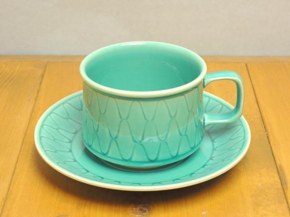 トルコ青 網目カップ&ソーサー|カップ・マグカップ|ハンドメイド通販・販売のCreema (11466)