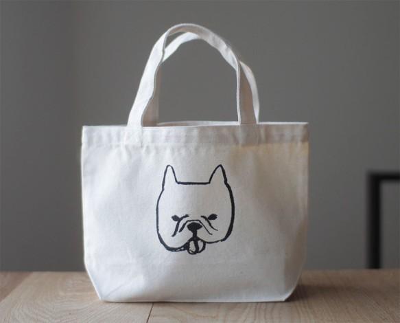 犬 フレンチブルドッグ ミニバッグ ランチバッグ|トートバッグ|ハンドメイド通販・販売のCreema (11736)