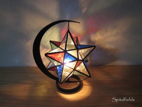 星の吊りランプ(マルチカラー)|ライト・ランプ|ハンドメイド通販・販売のCreema (11872)