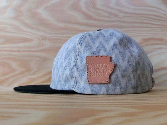 "MUSTY COFFEE SHOP ""ZIG-ZAG"" BASEBALL CAP|帽子|ハンドメイド通販・販売のCreema (11953)"