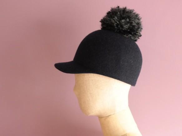 ウールフェルトのベースボールキャップ Sam サム|帽子|ハンドメイド通販・販売のCreema (11957)