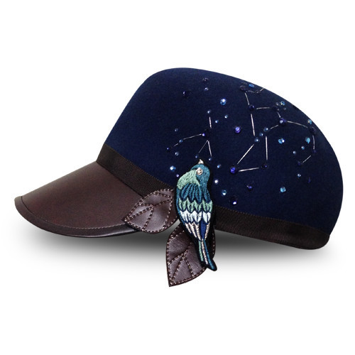 センチメンタルバード/明日はあの子に告白しNight|帽子|ハンドメイド通販・販売のCreema (11960)