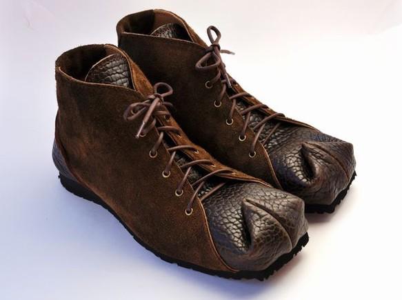 tote boots  baison x suede leather|靴・スニーカー・サンダル|ハンドメイド通販・販売のCreema (11995)