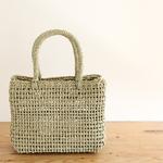 機能美を楽しむ*シンプルで美しい日本のかごバッグ