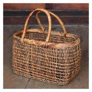 国産あけび 籠バッグ/L | hitofushi | 暮らしの道具と和の歳時記 (12010)