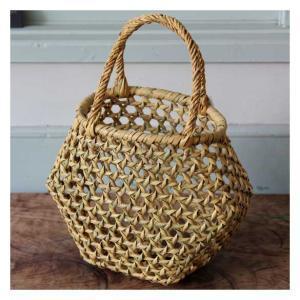 竹の巻き編みかごバッグ | hitofushi | 暮らしの道具と和の歳時記 (12015)