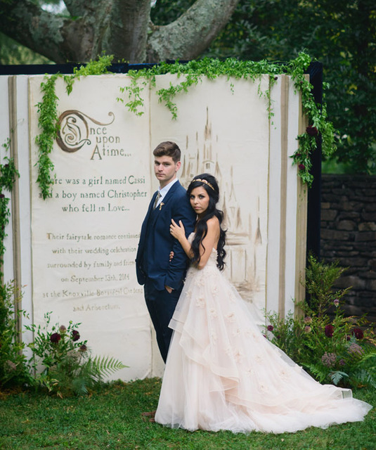 Fairytale-Inspired Wedding: Cassi + Chris – Part 1 | Green Wedding Shoes Wedding Blog | Wedding Trends for Stylish +  Creative Brides (12093)
