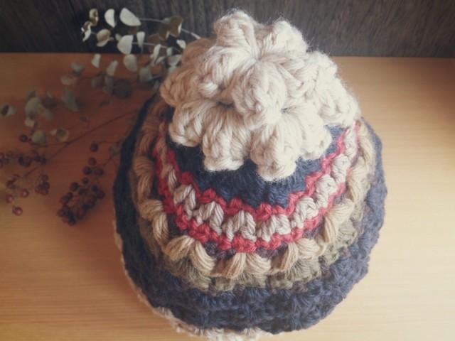 てっぺんにお花のついた帽子 作品詳細 | koioka | ハンドメイド通販 iichi(いいち) (12253)