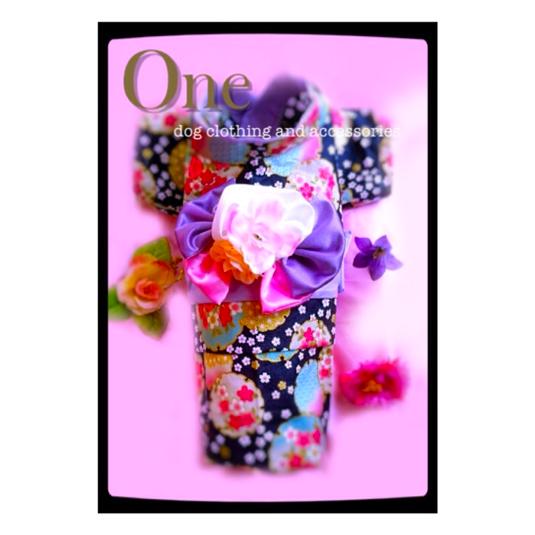犬用 浴衣 M[夕涼み]薄紫 丈長め可 | ハンドメイド、手作り作品の通販 minne(ミンネ) (12698)