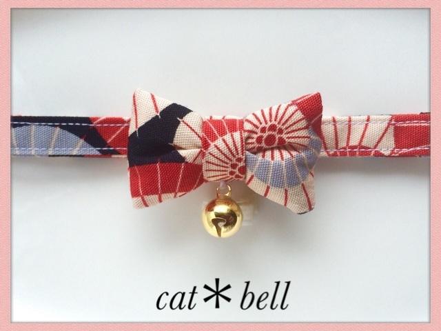 再販❗️京傘🐾 【蝶ネクタイ】*猫(&小型犬)首輪 | ハンドメイド、手作り作品の通販 minne(ミンネ) (12715)