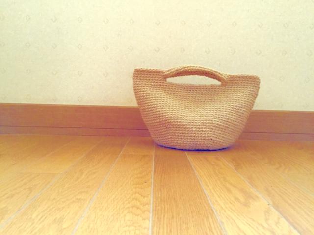 ボタニカル麻ひもバッグ | ハンドメイド、手作り作品の通販 minne(ミンネ) (12880)