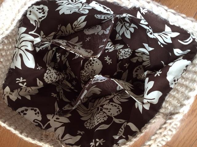ボタニカル麻ひもバッグ | ハンドメイド、手作り作品の通販 minne(ミンネ) (12881)