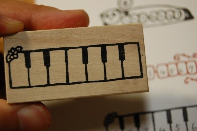 郵便番号枠☆ピアノ | ハンドメイド、手作り作品の通販 minne(ミンネ) (12913)