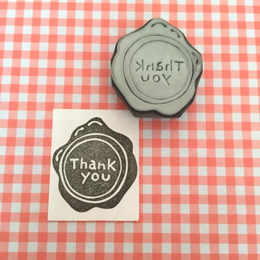 【再販】封蝋風「Thank you」 | ハンドメイド、手作り作品の通販 minne(ミンネ) (12948)