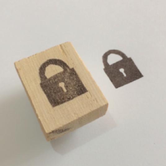 【再販】南京錠スタンプ | ハンドメイド、手作り作品の通販 minne(ミンネ) (12954)
