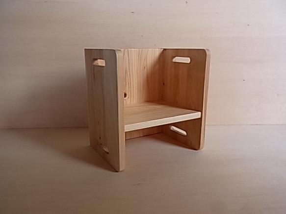 高さの変わるイス・ヒノキ材|食器・家具|ハンドメイド通販・販売のCreema (13023)