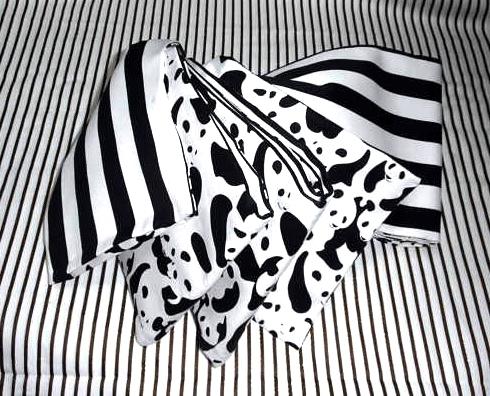 ●白黒パンダ柄半幅帯新品リバ | ファッション > 和服・和装小物 > 帯・帯締め | ハンドメイド・手作りマーケット tetote(テトテ) | 作品ID:ni2160853947 (13040)