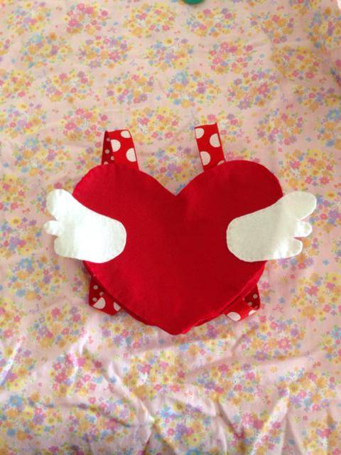再販4♡天使の羽のハートリュック | ハンドメイド、手作り作品の通販 minne(ミンネ) (13180)