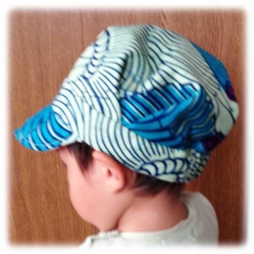 生地が選べる ベビー リバーシブル・ワークキャップ|帽子|ハンドメイド通販・販売のCreema (13257)
