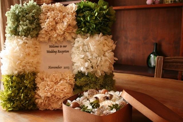 ナチュラルカラーのウエルカムボード white&green | ハンドメイド、手作り作品の通販 minne(ミンネ) (14253)