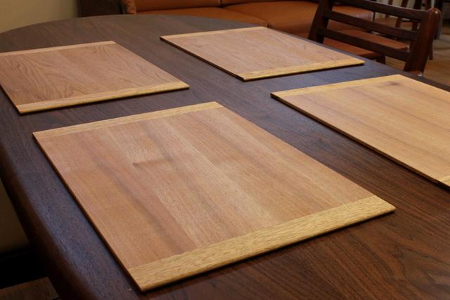木製ランチョンマット | ハンドメイドマーケット minne (14906)